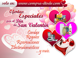 Special offers for the Day of Love